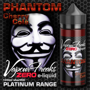 PHANTOM - Vapour Freaks ZERO e-liquid - 70% VG - 100ml