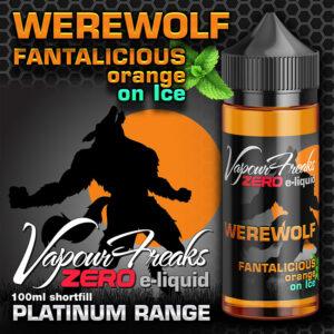 WEREWOLF - Vapour Freaks ZERO e-liquid - 70% VG - 100ml