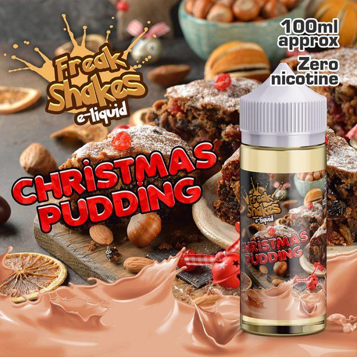 CHRISTMAS PUDDING - Freak Shakes e-liquid - 70% VG - 100ml