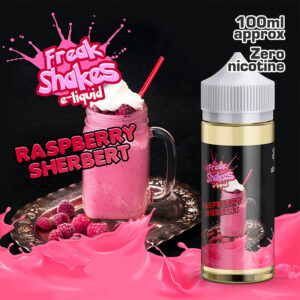 RASPBERRY SHERBERT - Freak Shakes e-liquid - 70% VG - 100ml