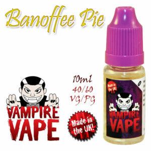 Banoffee Pie - Vampire Vape 40% VG e-Liquid - 10ml