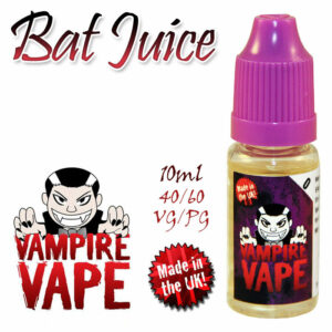 Bat Juice - Vampire Vape 40% VG e-Liquid - 10ml