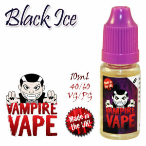 Black Ice - Vampire Vape 40% VG e-Liquid - 10ml