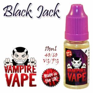 Black Jack - Vampire Vape 40% VG e-Liquid - 10ml