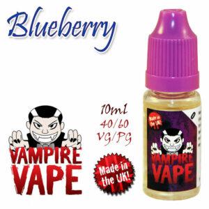 Blueberry - Vampire Vape 40% VG e-Liquid - 10ml