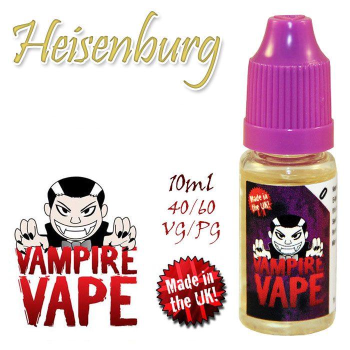 Heisenberg - Vampire Vape 40% VG e-Liquid - 10ml
