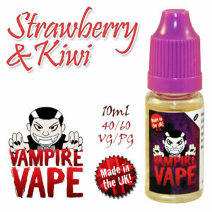 Strawberry and Kiwi - Vampire Vape 40% VG e-Liquid - 10ml