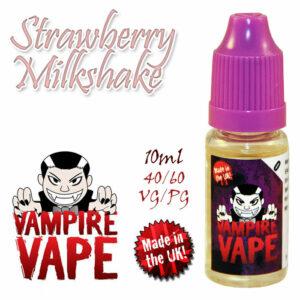 Strawberry Milkshake - Vampire Vape 40% VG e-Liquid - 10ml