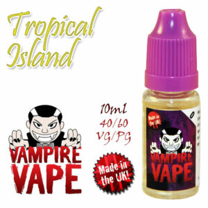 Tropical Island - Vampire Vape 40% VG e-Liquid - 10ml