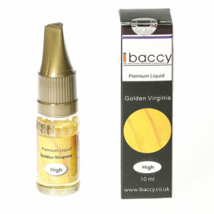 Gold Tobacco - 10ml - iBaccy e-liquid