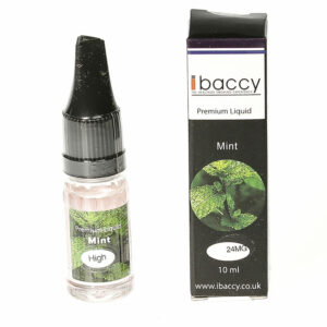 Mint - 10ml - iBaccy e-liquid