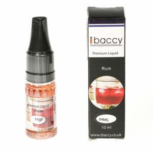 Rum - 10ml - iBaccy e-liquid