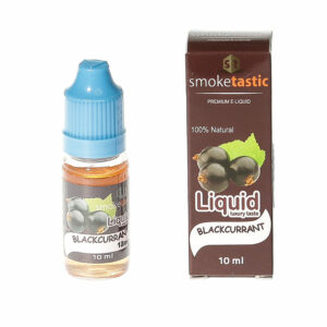 Blackcurrant -10ml - Smoketastic eLiquid