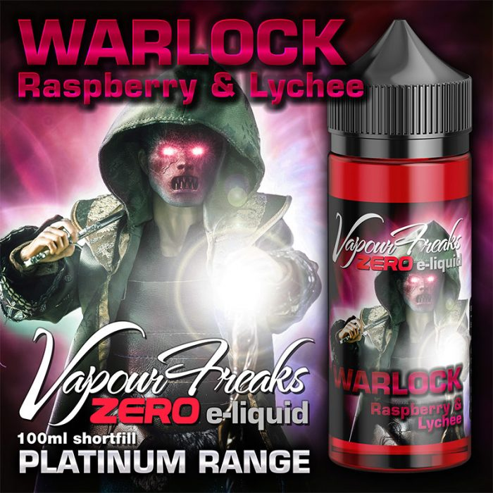 WARLOCK - Vapour Freaks ZERO e-liquid - 70% VG - 100ml