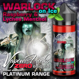 WARLOCK ON ICE - Vapour Freaks ZERO e-liquid - 70% VG - 100ml