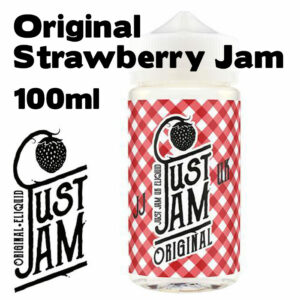 Original Strawberry Jam - Just Jam e-liquid - 80% VG - 100ml