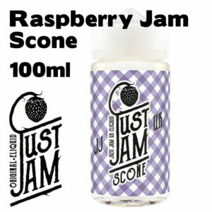 Raspberry Jam Scone - Just Jam e-liquid - 80% VG - 100ml