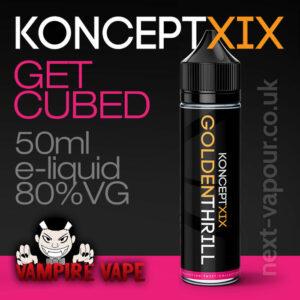 Get Cubed - Koncept XIX e-liquid - 80% VG - 50ml