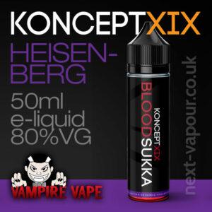 Heisenberg - Koncept XIX e-liquid - 80% VG - 50ml