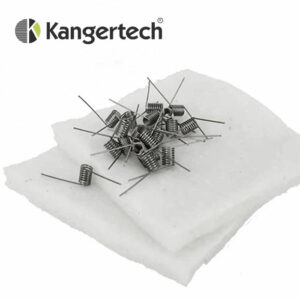 Coils and Cotton - for Kanger SUBTANK RBA Pre-Built 0.5 ohm Coils and Japanese Cotton Wick Pack