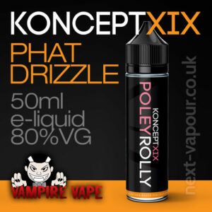 Phat Drizzle - Koncept XIX e-liquid - 80% VG - 50ml