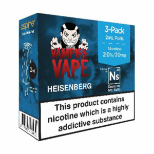 3 pack of Pods - Heisenberg - Vampire Vape and Element for Aspire Gusto Mini