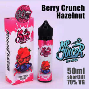 Berry Crunch Hazelnut - Mr Juicer e-liquid - 70% VG - 50ml