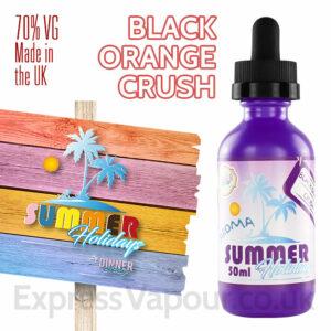 Black Orange Crush - Summer Holidays e-liquids by Dinner Lady - 70% VG - 50ml