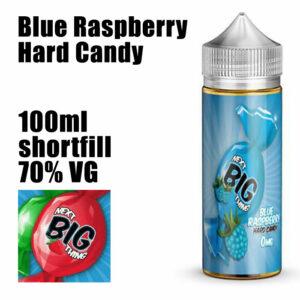Blue Raspberry Hard Candy - Next Big Thing e-liquid - 70% VG - 100ml
