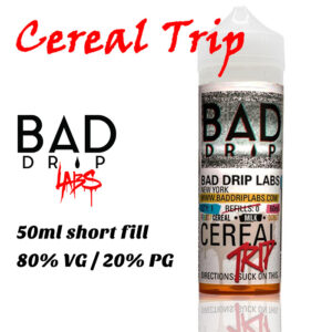 Cereal Trip - by Bad Drip e-liquid - 80% VG - 50ml