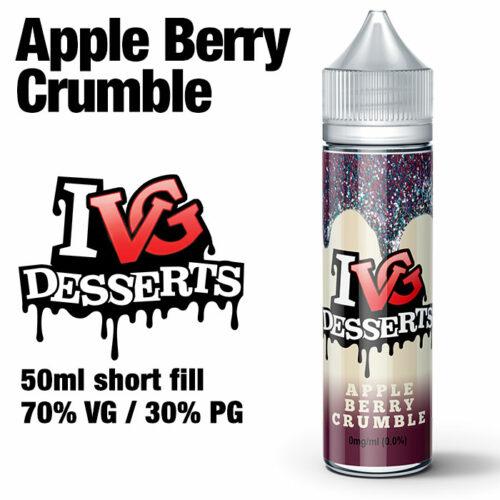 Apple Berry Crumble by I VG e-liquids - 50ml
