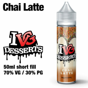 Chai Latte by I VG e-liquids - 50ml
