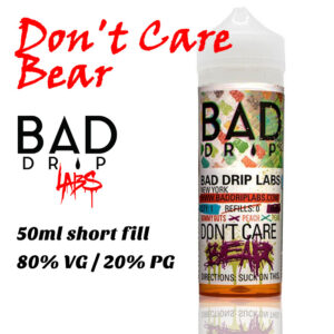 Don't Care Bear - by Bad Drip e-liquid - 80% VG - 50ml