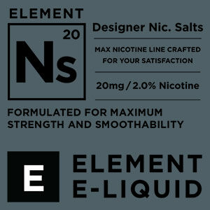 Element 10ml Nic Salt