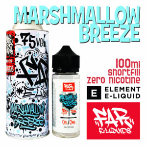 Marshmallow Breeze - Far e-liquids by ELEMENT - 75% VG 100ml