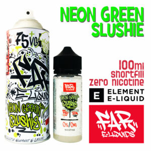 Neon Green Slushie - Far e-liquids by ELEMENT - 75% VG 100ml