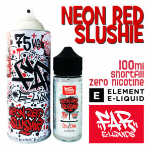 Neon Red Slushie - Far e-liquids by ELEMENT - 75% VG 100ml