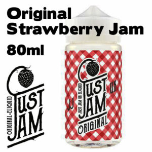 Original Strawberry Jam - Just Jam e-liquid - 80% VG - 80ml