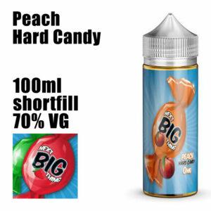 Peach Hard Candy - Next Big Thing e-liquid - 70% VG - 100ml