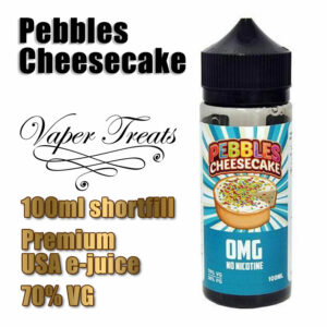 Pebbles Cheesecake - Vaper Treats e-liquid by Ruthless - 70% VG - 100ml