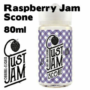 Raspberry Jam Scone - Just Jam e-liquid - 80% VG - 80ml
