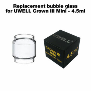 Replacement bubble glass for UWELL Crown III Mini - 4.5ml