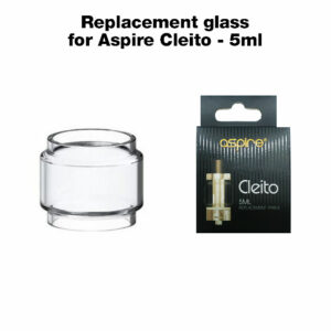 Replacement glass for Aspire Cleito - 5ml