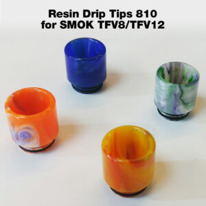 Resin Drip Tip for 810 SMOK TFV8/TFV12