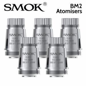 5 pack - SMOK BM2 Atomisers