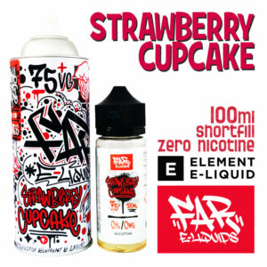 Strawberry Cupcake - Far e-liquids by ELEMENT - 75% VG 100ml