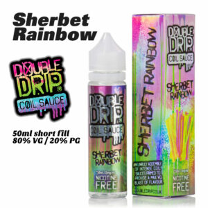 Sherbet Rainbow - Double Drip e-liquids - 50ml