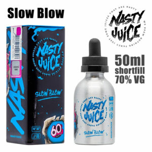 Slow Blow - Nasty e-liquid - 70% VG - 50ml
