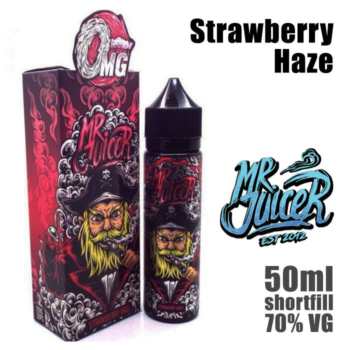 Strawberry Haze - Mr Juicer e-liquid - 70% VG - 50ml