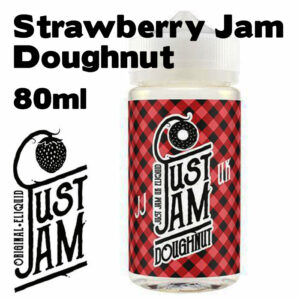 Strawberry Jam Doughnut - Just Jam e-liquid - 80% VG - 80ml